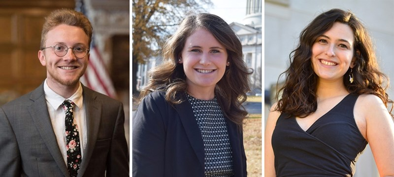 Three Students Selected As Marshall Finalists, One As Rhodes Finalist
