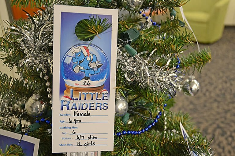 2020 Little Raiders gift-giving campaign needs True Blue Secret Santas