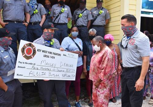 Keywest-More Donations to Finish Miss Butler's Home